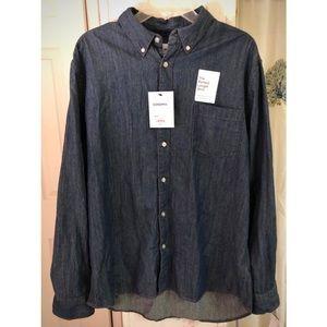 Sonoma Denim Button Down Shirt XL